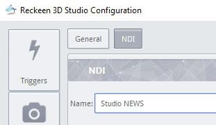 NDI stream name